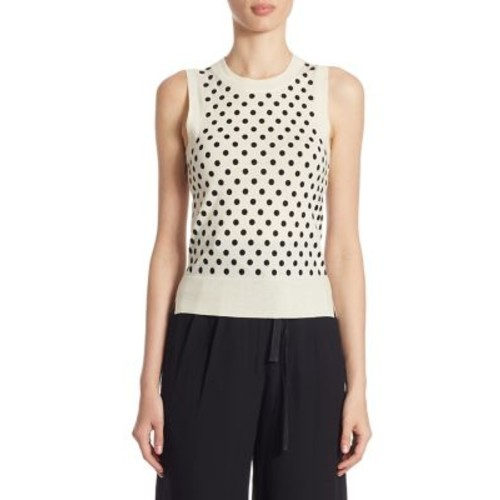 MARC JACOBS Wool Polka Dot Sweater