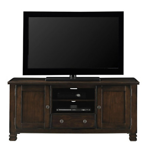 Ameriwood Altra Summit Mountain Wood TV Stand For Flat-Screen TVs Up To 55