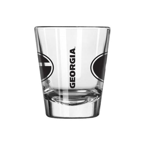 NCAA Collectors Glass - Georgia Bulldogs