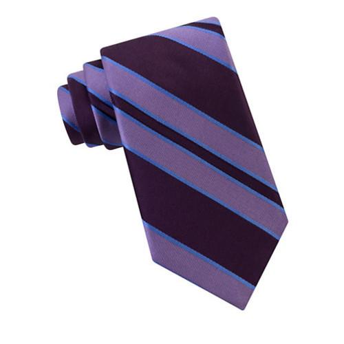 Ike Behar - Striped Silk Tie