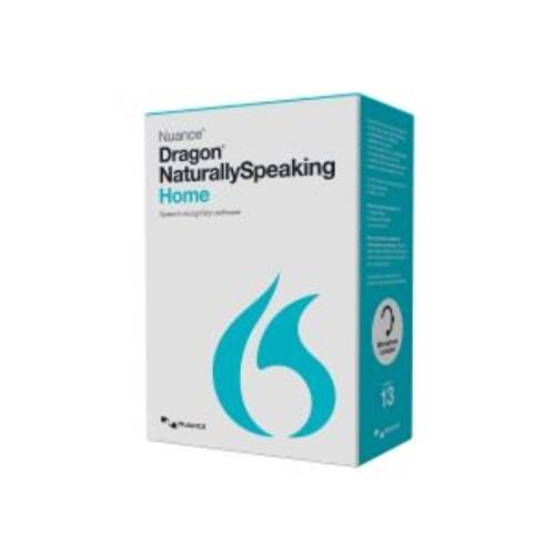 Dragon NaturallySpeaking Home - ( v. 13 ) - box pack - 1 user - DVD - Win - English - United States