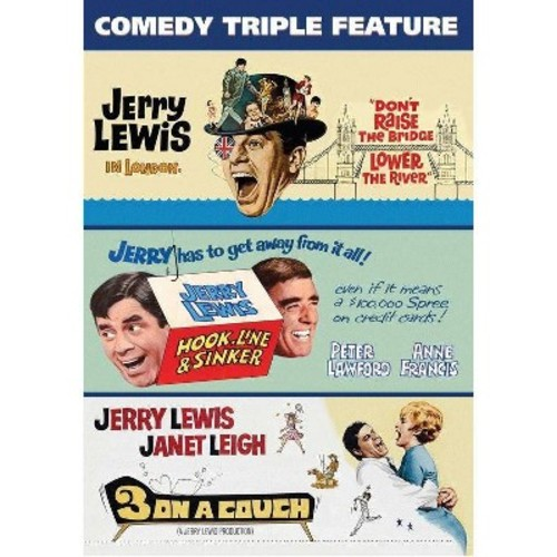 Jerry Lewis Triple Feature (DVD)