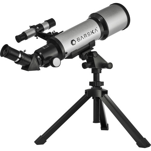 Barska 40070, 300 Power Starwatcher Refractor Telescope [With Barlow Lens]