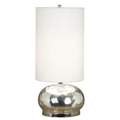Kenroy Home Roxie Table Lamp in Mercury