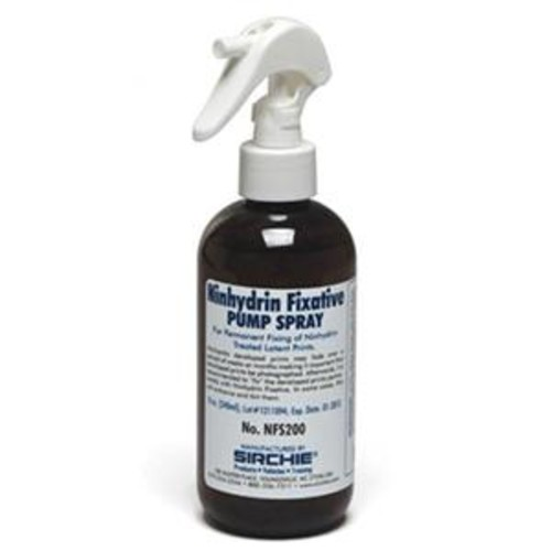 Sirchie Ninhydrin Fixative Spray Pump, 8 oz NFS200