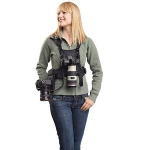 Cotton Carrier Camera System for 2 Camera's, Black 124 RTL-D