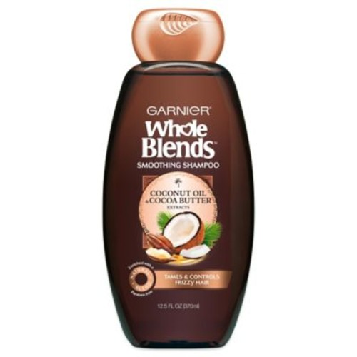 Garnier Whole Blends 12.5 oz. Smoothing Shampoo with Coconut Oil & Cocoa Butter
