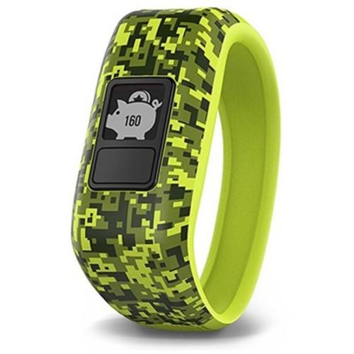 Garmin Vivofit Jr. Activity Tracker for Kids, Regular Fit - Digi Camo (010-01634-01)