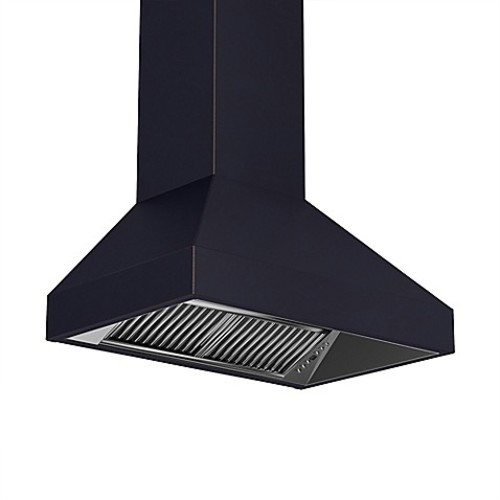 ZLINE Designer Series 8597B 30-Inch Copper Wall Range Hood in Oil-Rubbed Bronze