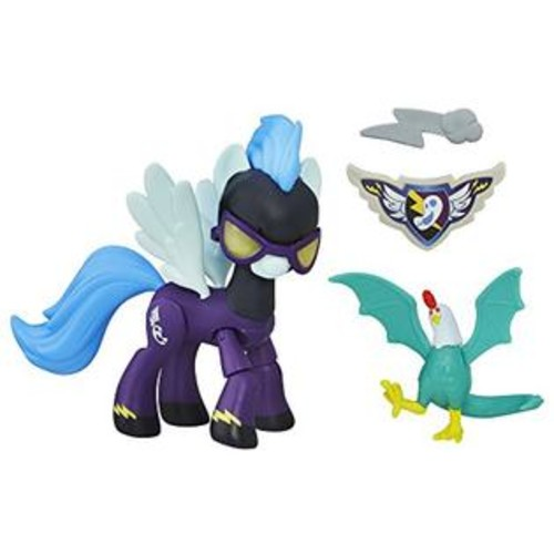 Hasbro My Little Pony Guardians of Harmony Shadowbolts Pony and Cockatrice Figures
