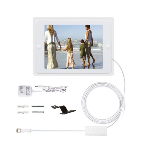 Antop Flat-Panel Smartpass Amplified Indoor HDTV Antenna and Photo Frame