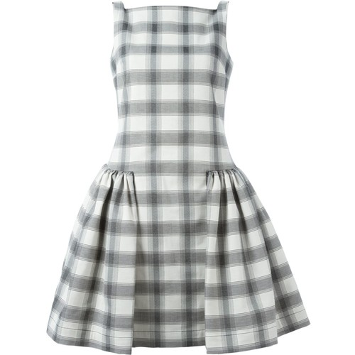 VIVIENNE WESTWOOD ANGLOMANIA Sleeveless Checked Dress