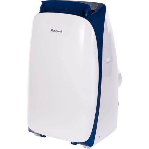 Honeywell White/ Blue HL12CESWB HL Series 12,000 BTU Portable Air Conditioner with Remote Control