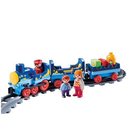 Playmobil Night Train & Track Playset - 6880
