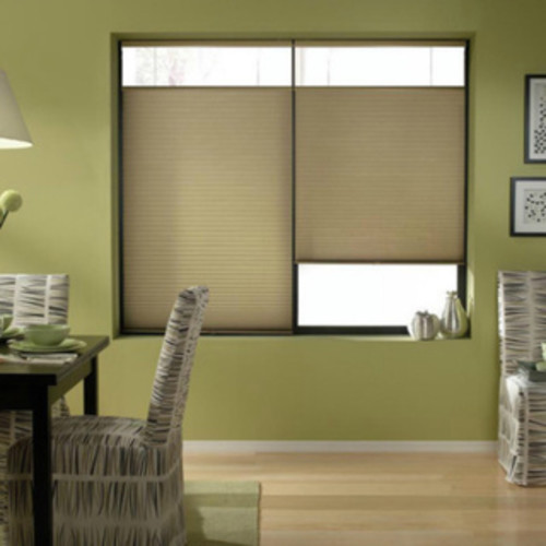 Cordless Top-down Bottom-up Gold Rush Cellular Shades 22 to 22.5-inch Wide