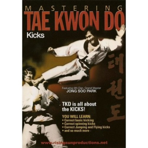 Mastering Tae Kwon Do: Kicks (DVD) (Eng) 2011