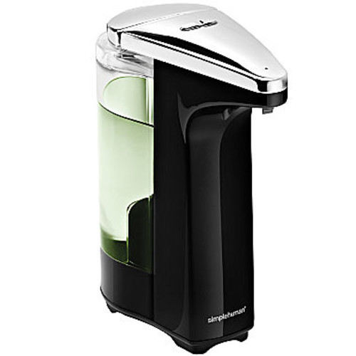 simplehuman 8 Ounce Black Sensor Pump Soap Dispenser