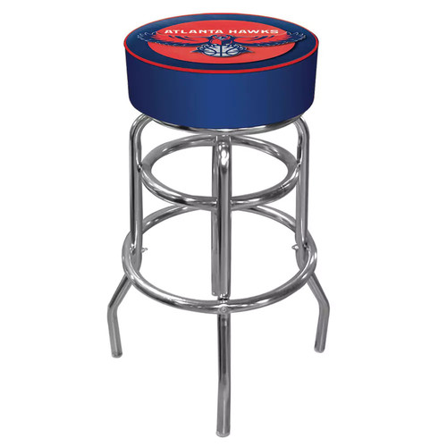 Atlanta Hawks Padded Swivel Bar Stool