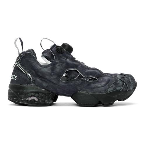 Black Reebok Edition Instapump Fury Sneakers