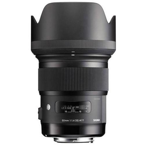 Sigma 50mm f/1.4 DG HSM ART Lens for Canon EOS Cameras w/MC-11 EF to Sony Mt Con