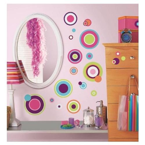 RoomMates Crazy Dots Peel & Stick Wall Decals