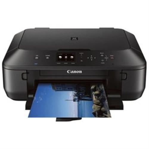 Canon PIXMA MG5620 Inkjet Multifunction Printer - Color - Photo Print - Desktop - Copier/Printer/Scanner - 12.2 ipm Mono/8.7 ipm Color Print (ISO) - 44 Second Photo - 4800 x 1200 dpi Print - 1 x Input Tray 100 Sheet - 2.5