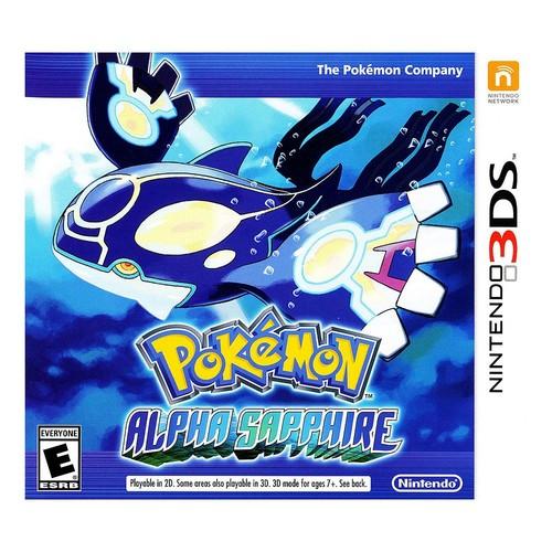 Pokemon Alpha Sapphire - Nintendo 3DS [Disc, Alpha Sapphire, Nintendo 3DS]