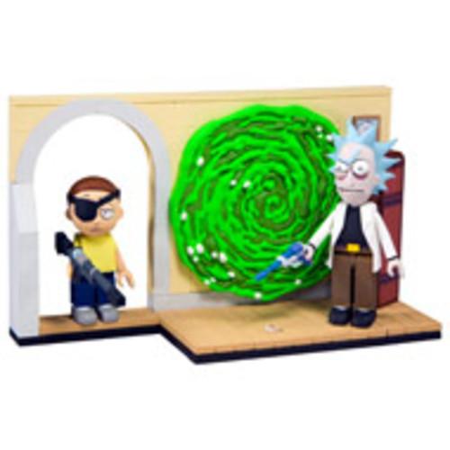 Rick & Morty Small Construction - Evil Rick & Morty