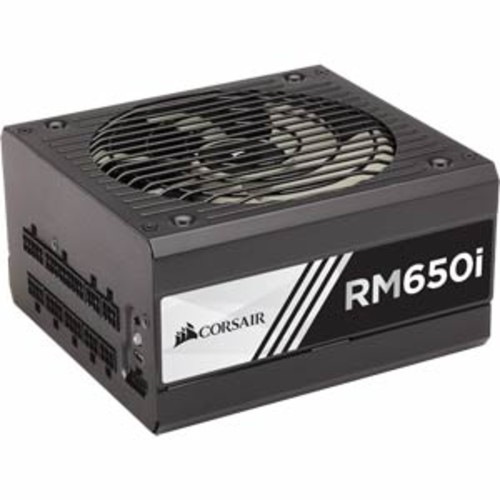 Corsair RMi Series PSU RM650i 650 Watt 80 PLUS Gold Certified Fully Modular ATX Computer Power Supply