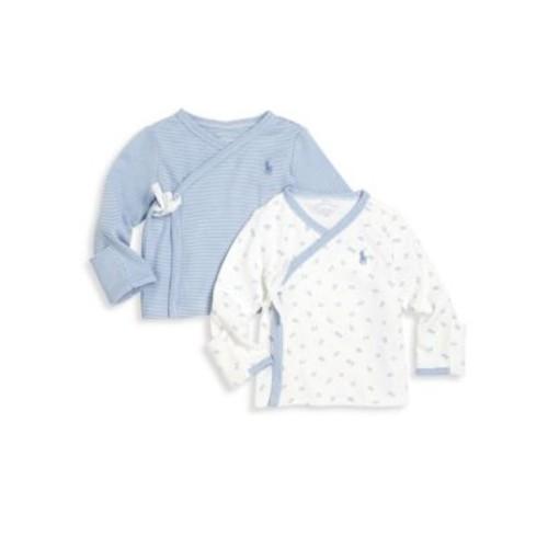 Baby's Two-Piece Kimono Top Set