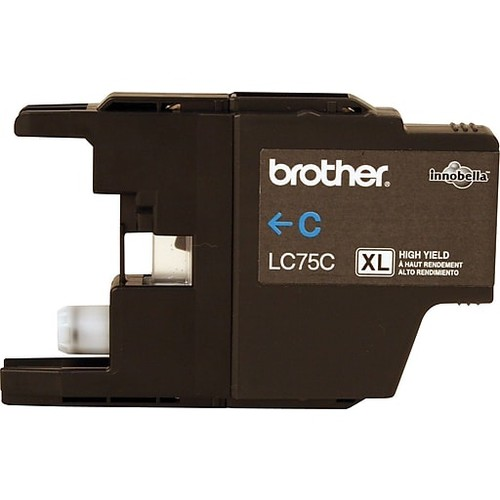 Brother Ink Cartridge, Cyan, High Yield (LC75CS)