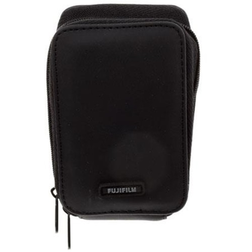 Fujifilm Zippered Poly Case for Compact Cameras - Black JCSCZ