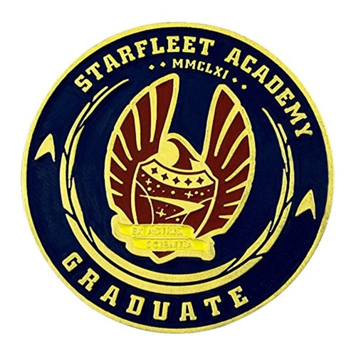 Star Trek 50th Anniversary Challenge Coin