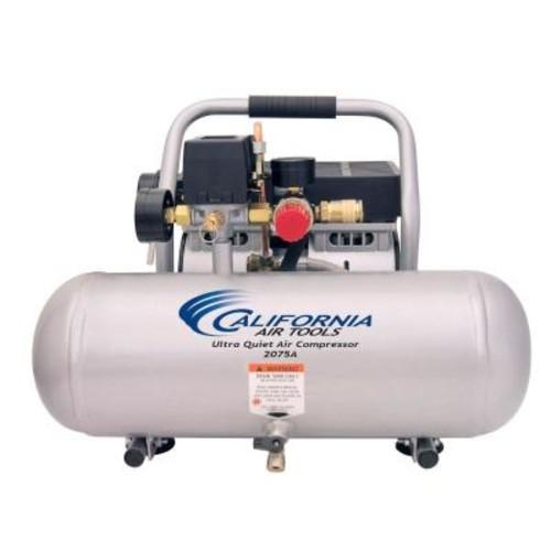 California Air Tools 2.0 Gal. 3/4 HP Ultra Quiet and Oil-Free Aluminum Tank Air Compressor