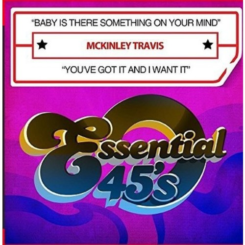 Travis McKinley - Baby Is There Something on Your Mind (CD)