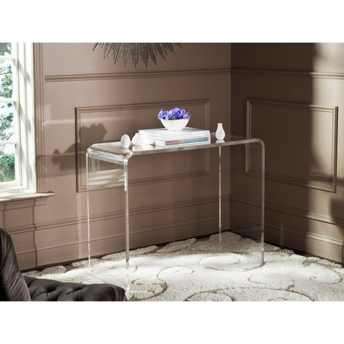 Safavieh Coffee, Console, Sofa & End Tables Safavieh Atka Clear Acrylic Console Table