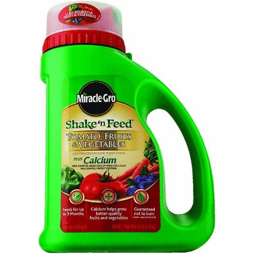 Miracle-Gro Shake N' Feed Tomato, Fruits & Vegetables Plus Calcium Dry Plant Food - 3002610