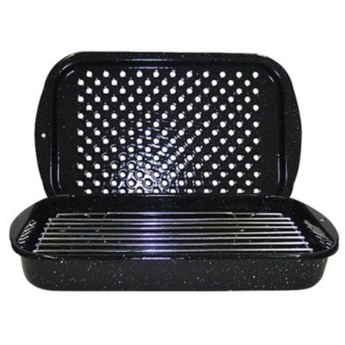 GraniteWare 3pc. Bake, Broil, & Grill Set - Black