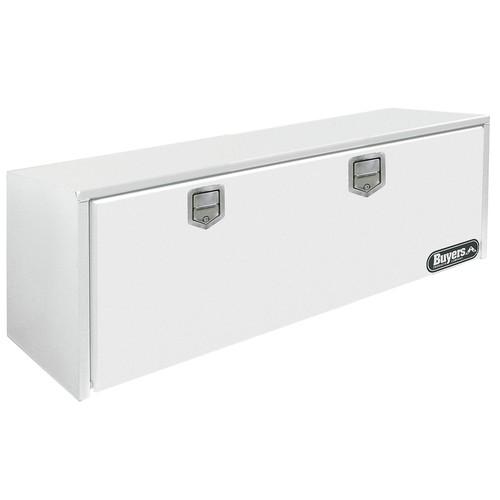 Steel Underbody Truck Box, White, Double, 11.2 cu. ft.