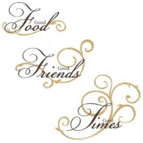 RoomMates RMK1692SCS Good Food Peel & Stick Wall Decals