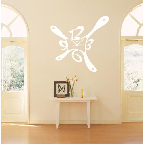 Watch Blob Wall Art Sticker Decal White