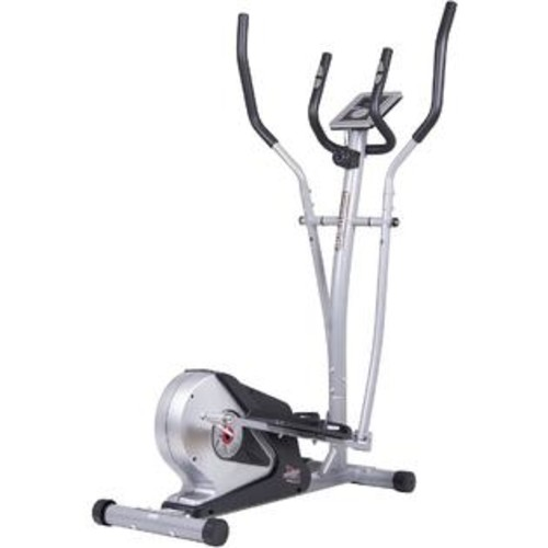 BODY CHAMP MAGNETIC ELLIPTICAL TRAINER w/ HEART RATE TECHNOLOGY