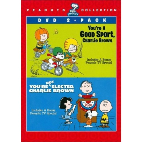 Peanuts Collection: You're a Good Sport, Charlie Brown/You're Not Elected, Charlie Brown [2 Discs] [DVD]