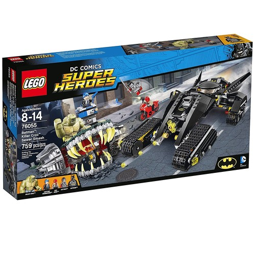 LEGO DC Comics Super Heroes Batman: Killer Croc Sewer Smash #76055