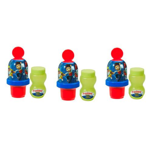 Little Kids Paw Patrol Boy Mini Bubble Tumbler 3 Pack - 1