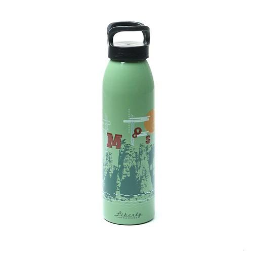 Moosejaw Liberty Bottleworks Rocky Mountain High Aluminum Water Bottle