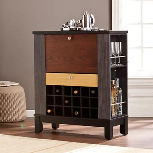 SEI James Wine Bar Cabinet