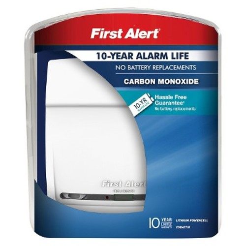 First Alert Ten Year Carbon Monoxide Alarm