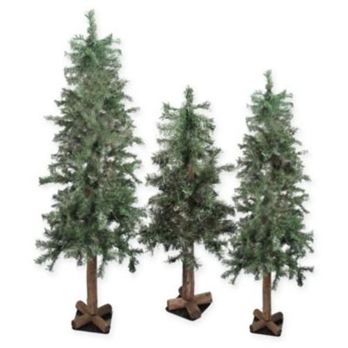 Northlight Alpine Artificial Christmas Tree (Set of 3)