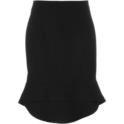 ALEXANDER WANG Peplum Hem Pencil Skirt